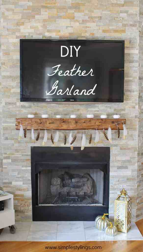 DIY Feather Garland2