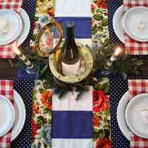 Holiday Open House with 11 Magnolia Lane: Christmas Table & Dining Room