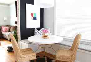 Cafe Style Dining Room Reveal   Simple Stylings