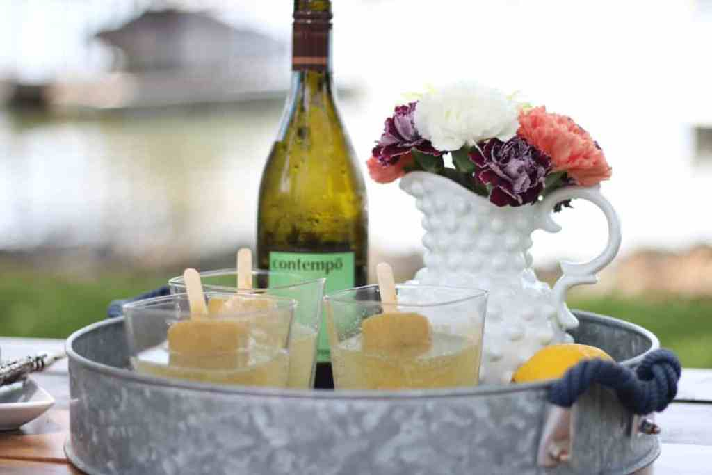 Summertime Boozy Pops