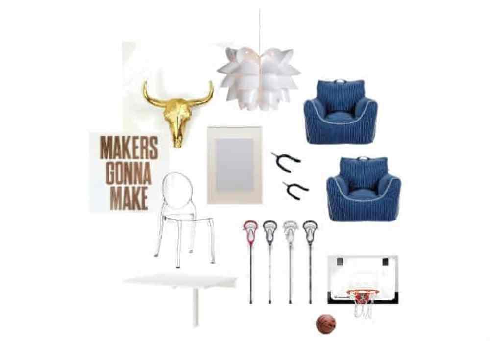 A Playroom Mini Makeover: Design Plan and Budget