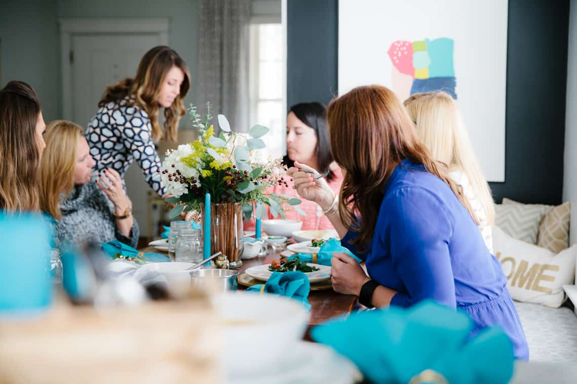 Simple Stylings Friendsgiving 2015