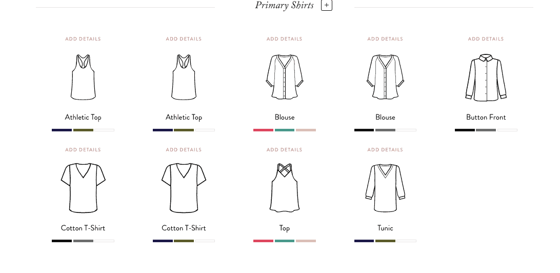 Building a Capsule Wardrobe: select pieces