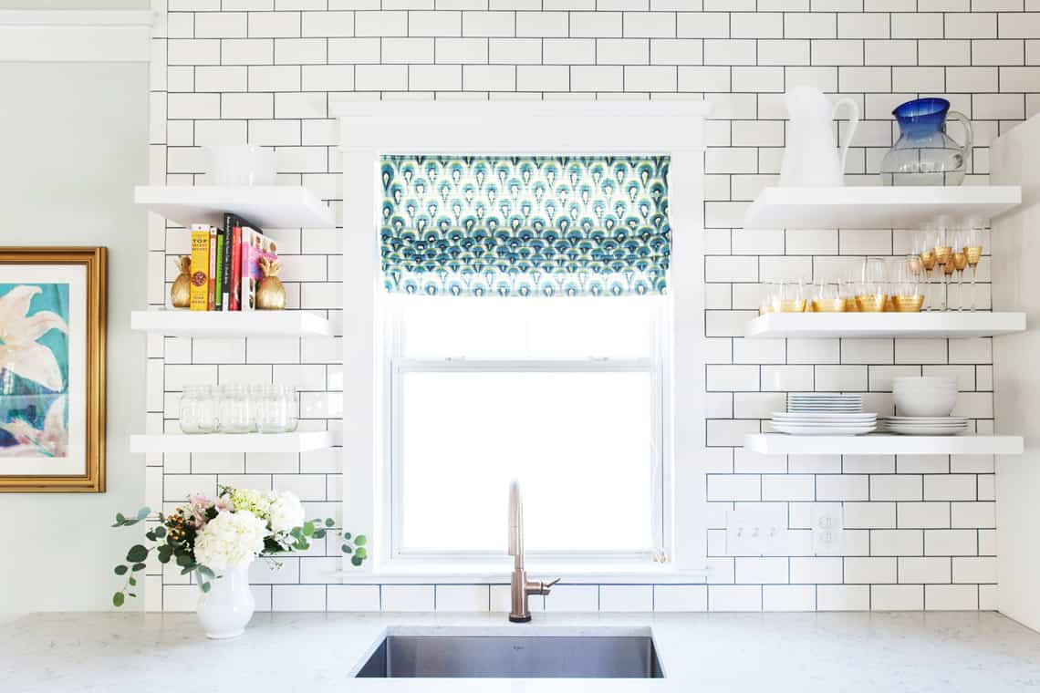 Simple Stylings Home Tour on Glitter Guide Kitchen