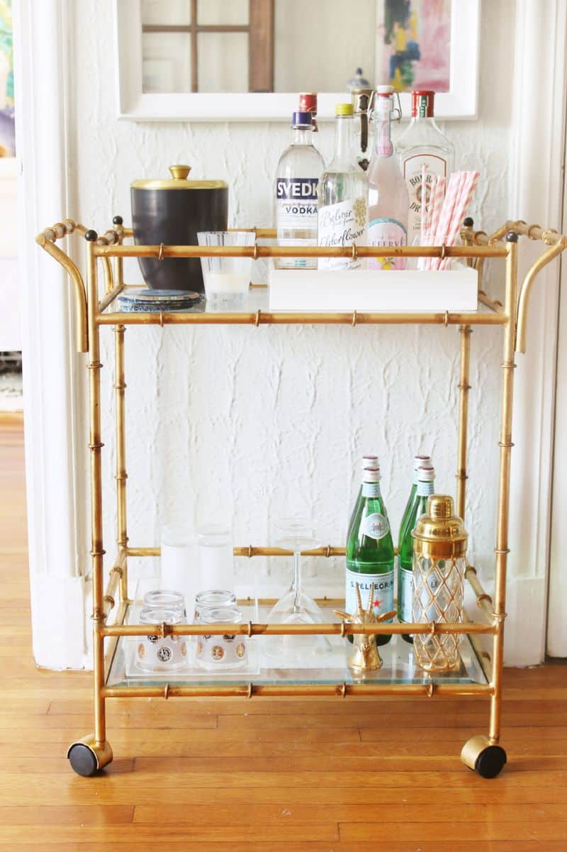 Home of the Month: Shannon's Bar Cart