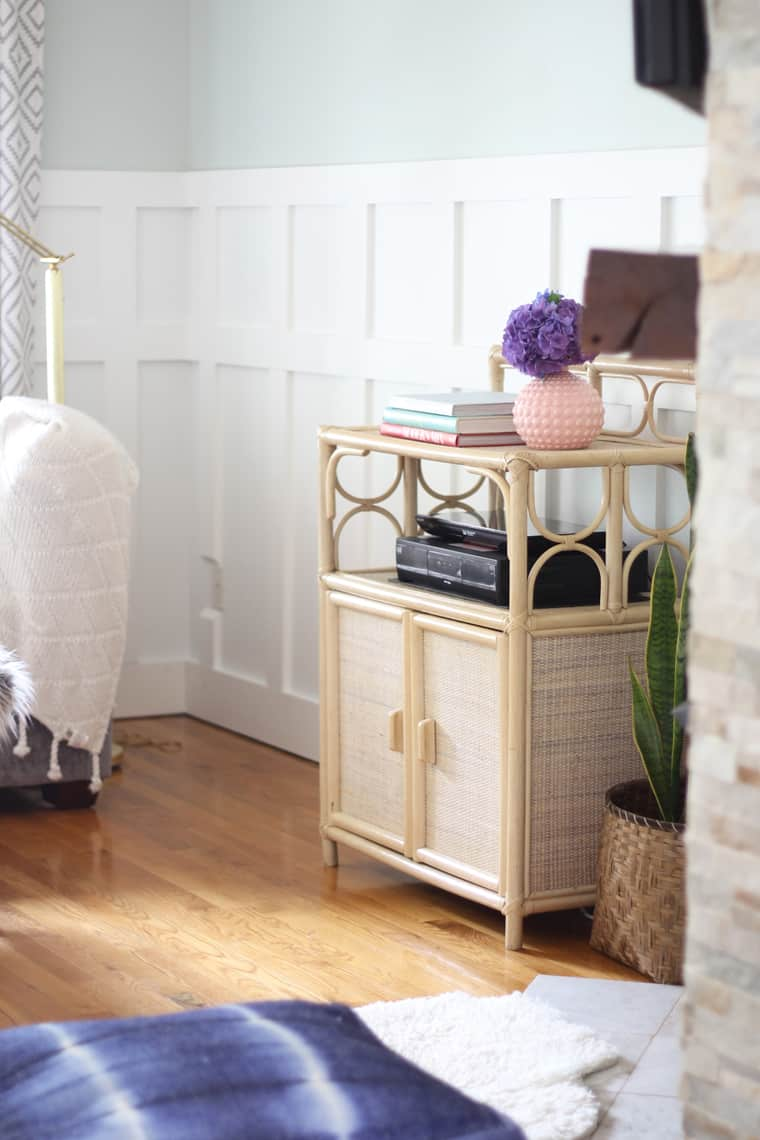 BSHT: Southern Summer Home Tour Rattan Cabinet