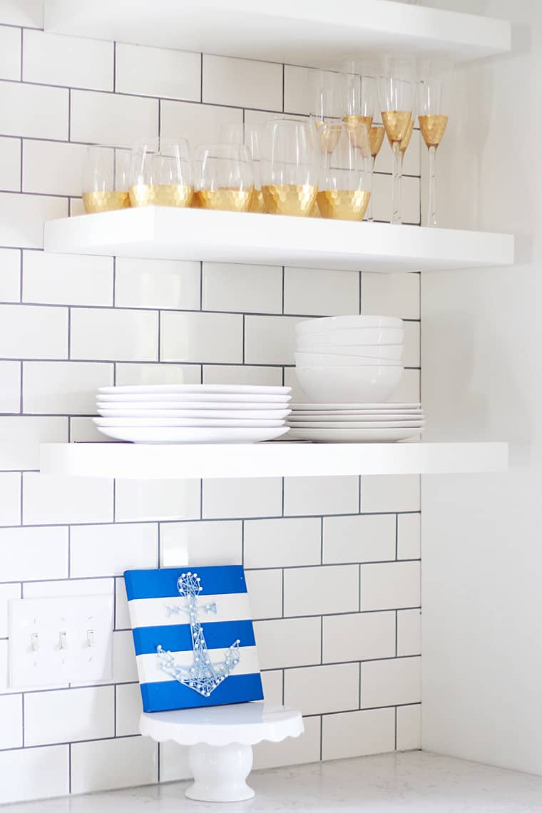 BSHT: Southern Summer Home Tour Floating Shelves