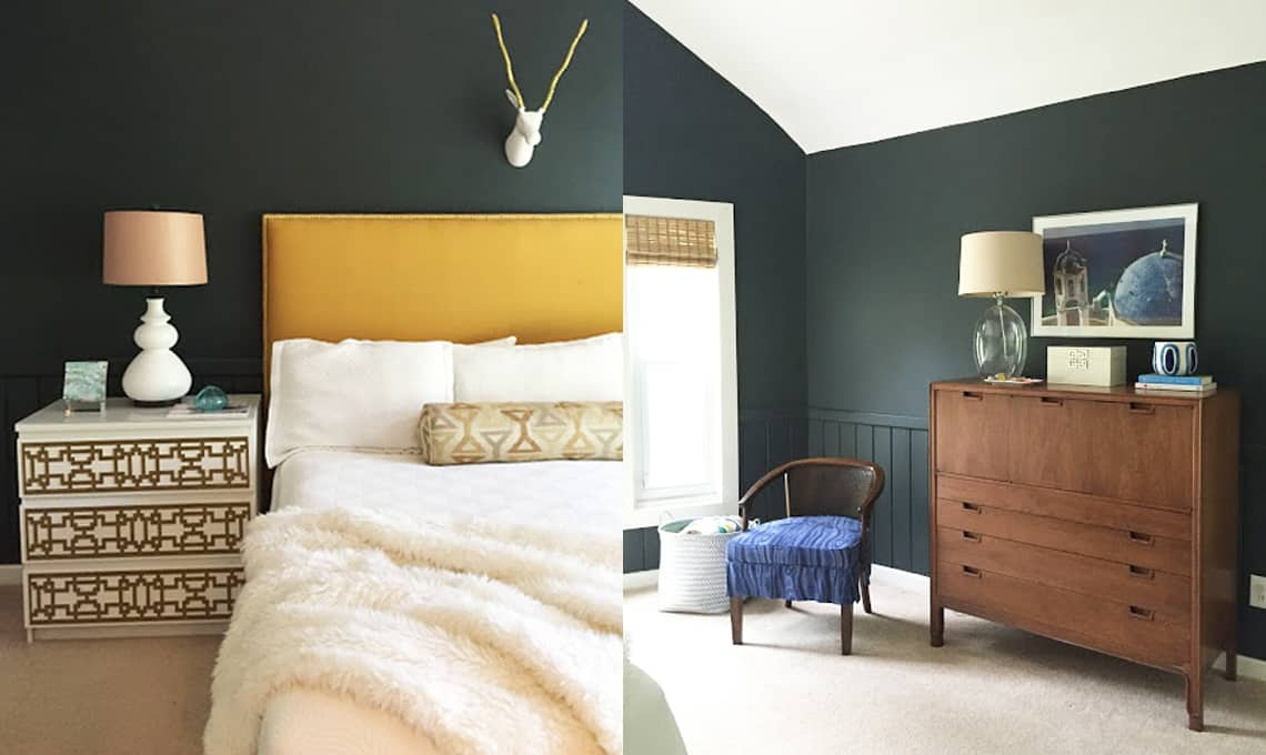 HOM: Cozy Home of Eileen from A Creative Day Blog master bedroom