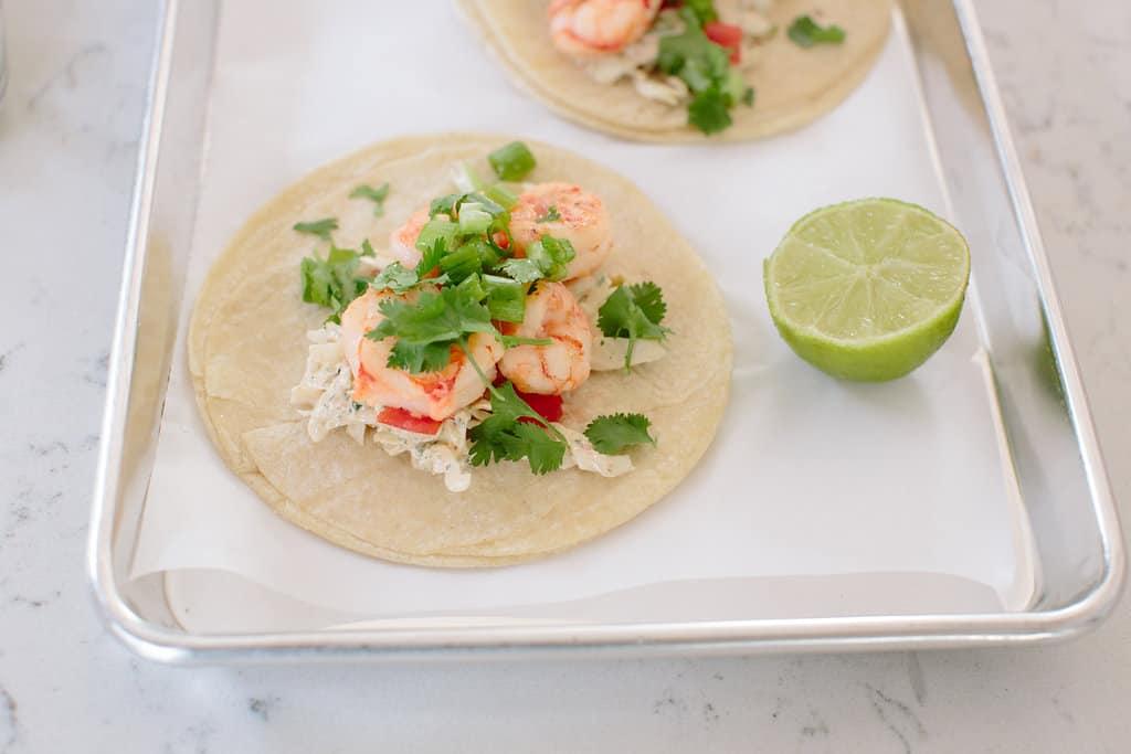 Himalayan-Salt-Shrimp-Tacos-Tequila-Shooters-meal