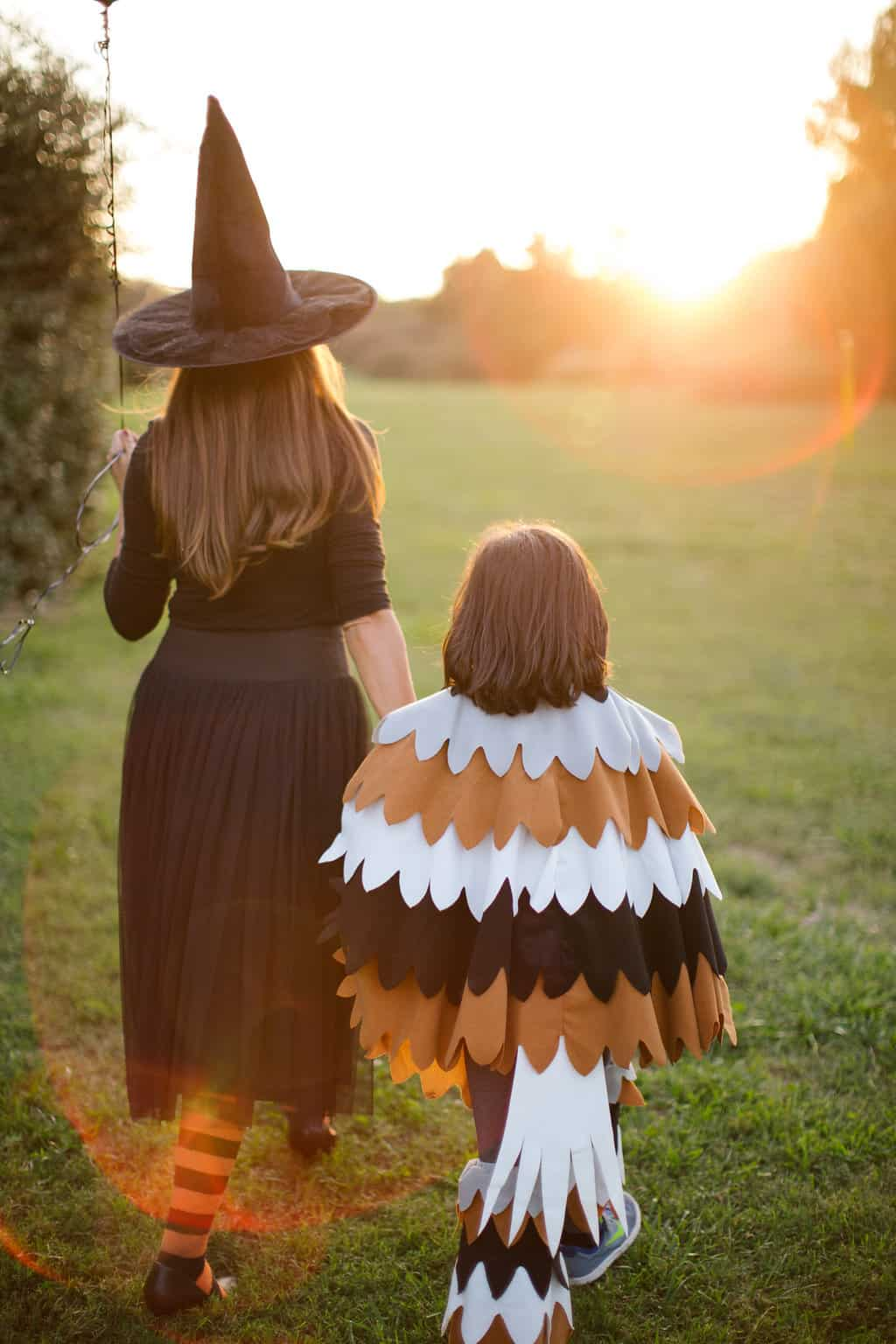 Embracing-The-Magic-of-Halloween-Kid-Style-mother-son