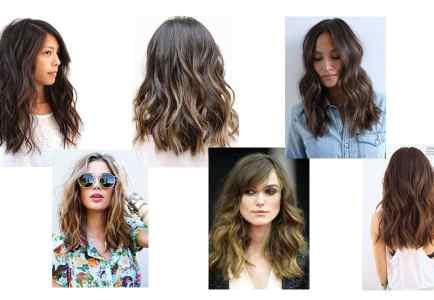 CURRENT FAVORITE (Hair): Blunt Long Wavy Bob