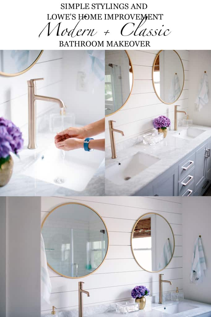Bathroom Renovation Shows our master bathroom renovation reveal