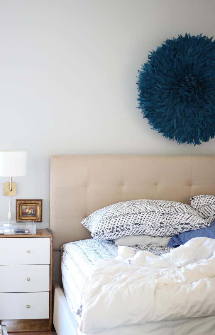 Our (Real Life) Summer Home Tour master bedroom