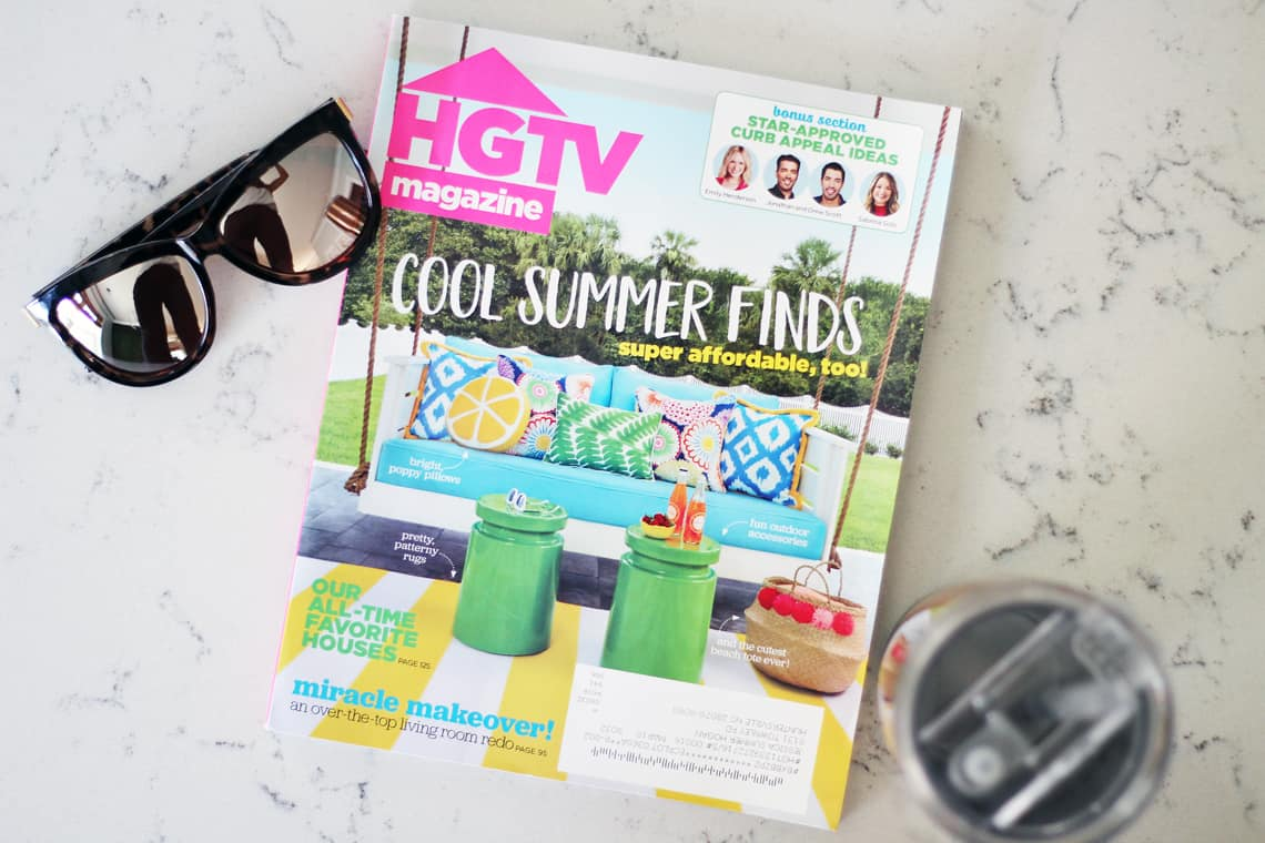 Our (Real Life) Summer Home Tour magazine