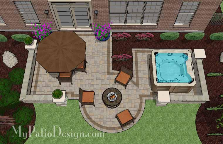 ... You Can Find Lots Of Simple Plans And Seeing Them Drawn From The  Overhead View Is Really Helpful! You Can Even Create Your Own Patio Design  For A Fee.
