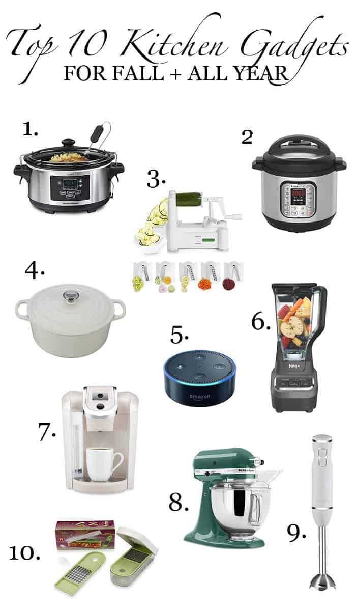 Top Kitchen Gadgets my top 10 favorite kitchen gadgets for fall + all year!