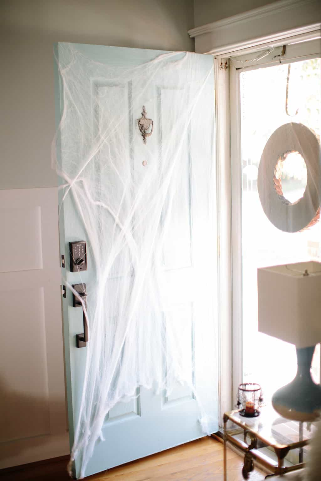 Happy Halloween: A Simply Spooky Home Tour front door