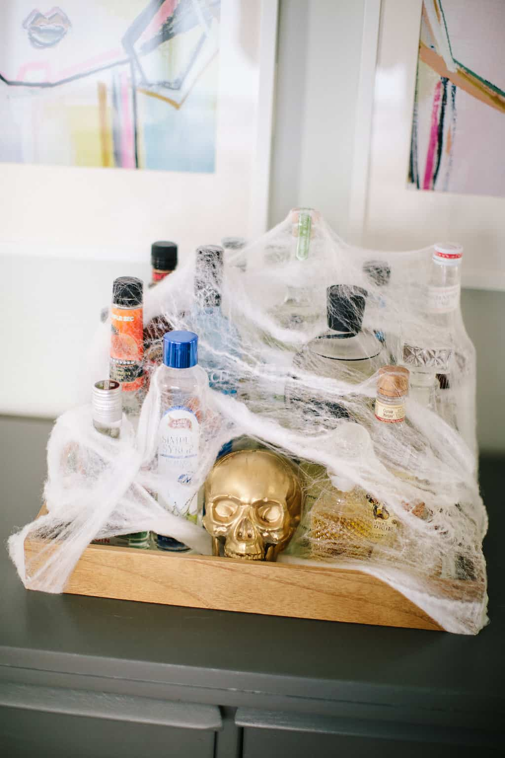 Happy Halloween: A Simply Spooky Home Tour bar