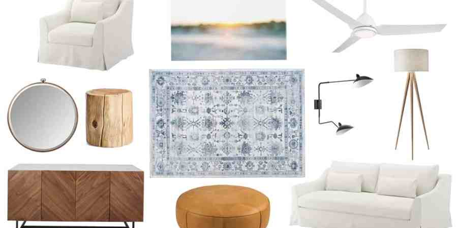 My Dream Living Room Design Board
