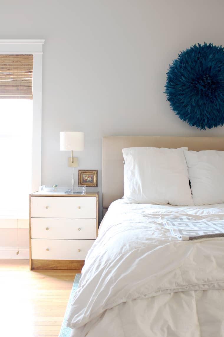 Spring 2018: A Wannabe Minimalist Home Tour master bedroom juju