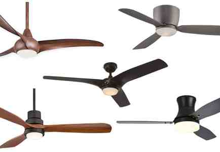 Top 5 Friday: Modern Ceiling Fans (with lights) Under $300
