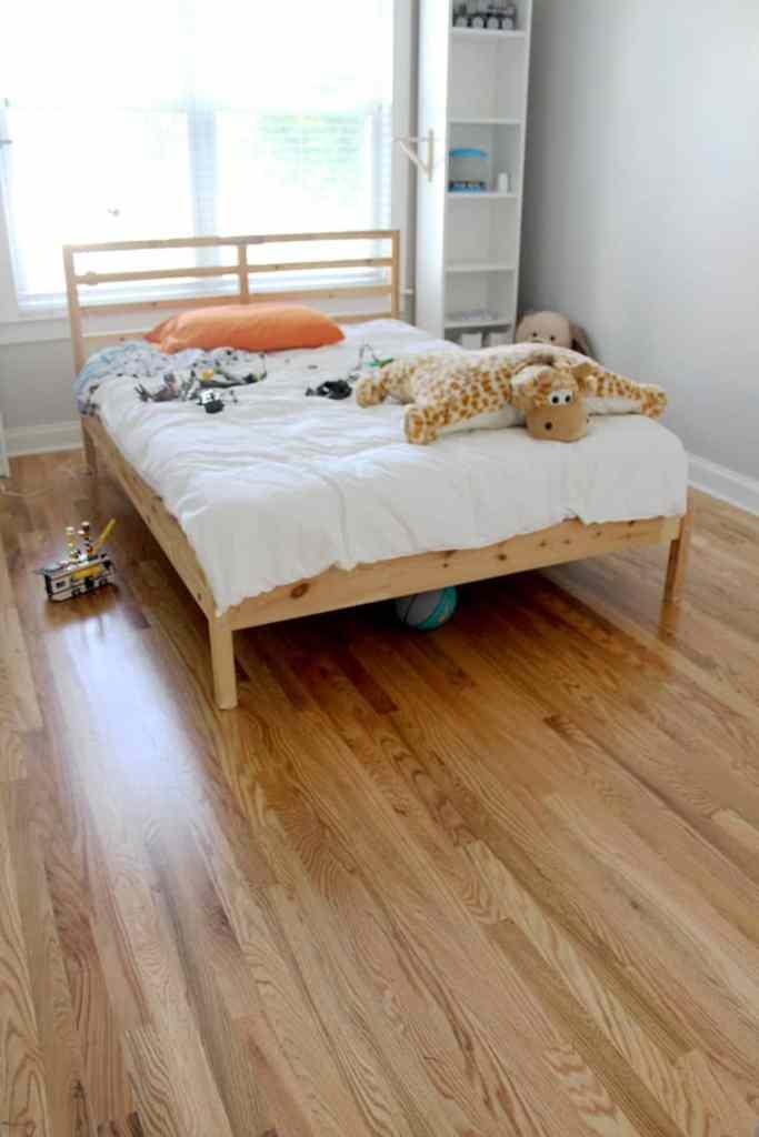 Before + After: New & Refinished Hardwood Floors after big boy