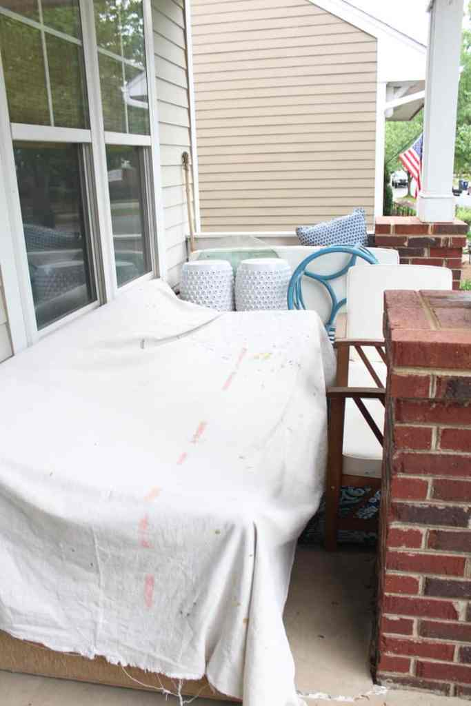 Before + After: New & Refinished Hardwood Floors porch 2