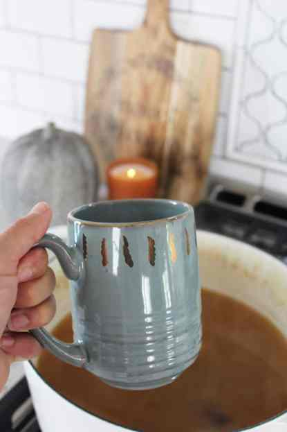 How To Decorate Your Kitchen for Fall + 2 Recipes! mug