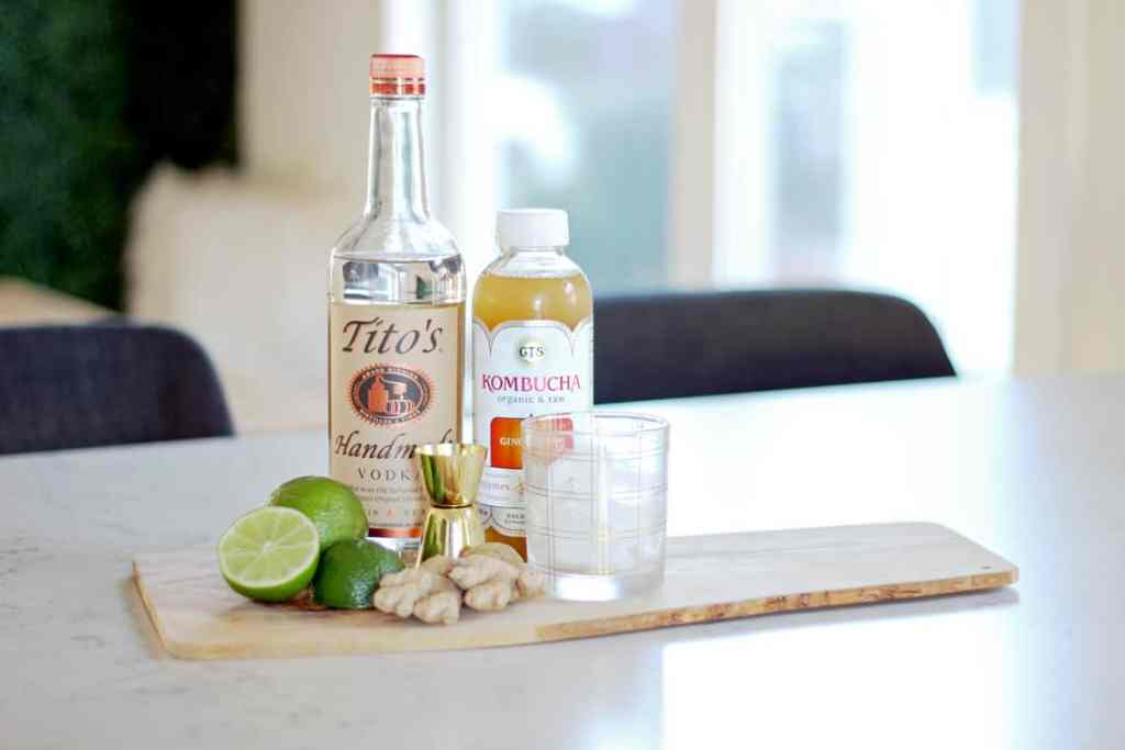 A Clean Ginger Cocktail Recipe ingredients
