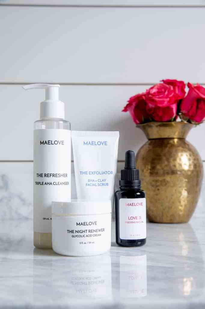 Healthy Habits: My Nighttime Skincare Routine with Maelove + Simple Stylings + The Night Renewer
