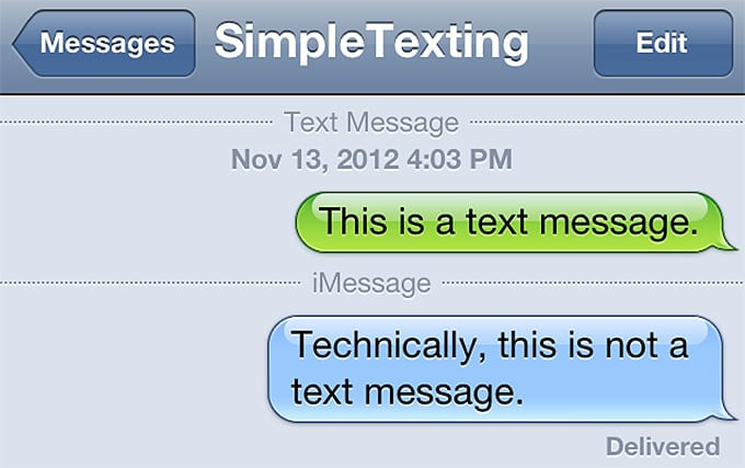 Simple Texting
