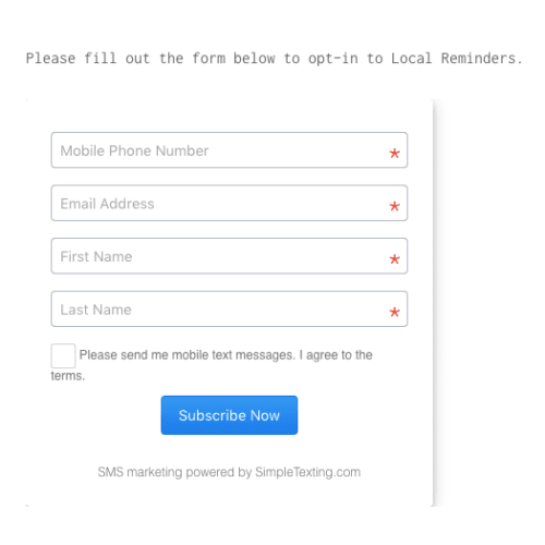 IBEW's web sign-up form with fields for phone number, email, first name, and last name