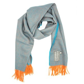 Diamond Orange Teal XL Scarf