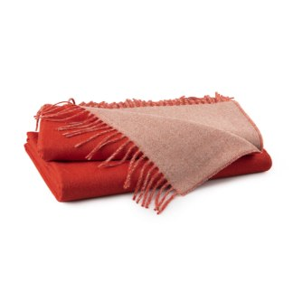 Burnt Orange Donkey Throw