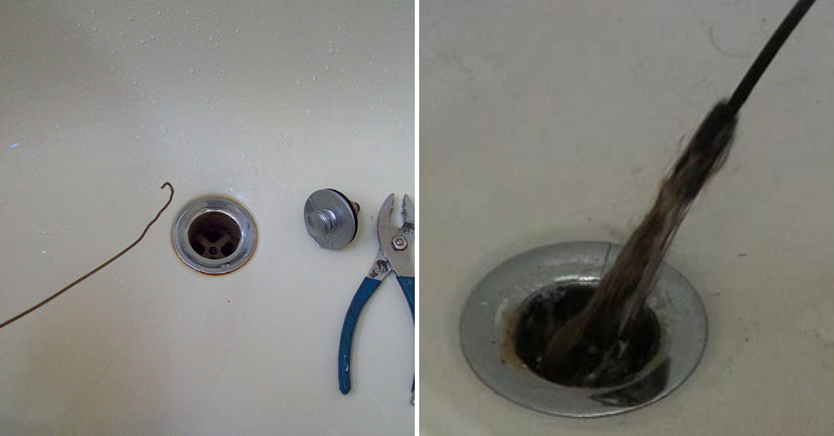 How To Clean And Unclog A Shower Or Tub Drain Simple