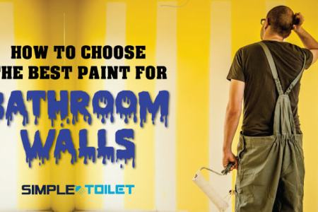 How To Choose The Best Paint For Bathroom Walls 2018   Simple Toilet How To Choose The Best Paint  Bathroom is one of