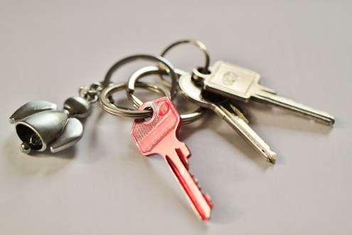 House Keys Shut Off Key Door Key Security Keychain