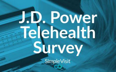 J.D. Power Telehealth Satisfaction Survey