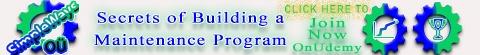 Building Maintenance Program on Udemy