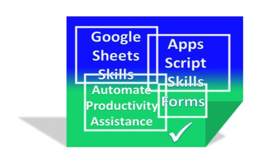 Google sheets training