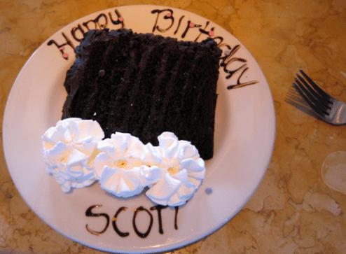 Happy Birthday Scott Cake