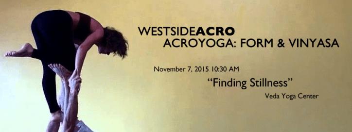 AcroYoga Form & Vinyasa - Finding Stillness