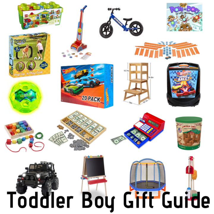 Toddler Boy Gift Guide