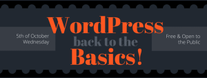 WordPress 101: Back to the Basics