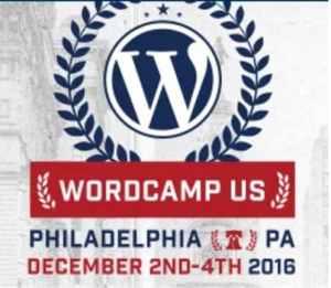 WordCamp US – Philadelphia, PA 2016