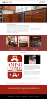Refreshing Website Designs – Amish Cabinets