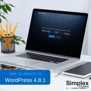 WordPress updates to 4.8.1 – Time to update!