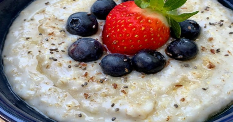 How To Make Oats Porridge With Fruits