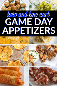 Keto and low carb Super Bowl appetizer ideas