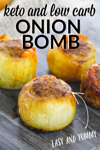 Keto stuffed onions an easy Keto and low carb meal idea